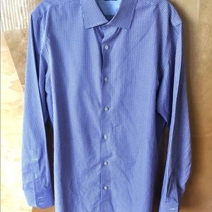 Banana Republic PURPLE slim fit shirt